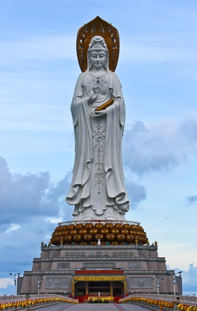 oceanic: Guanyin statue (Goddess of mercy),Hainan province,China