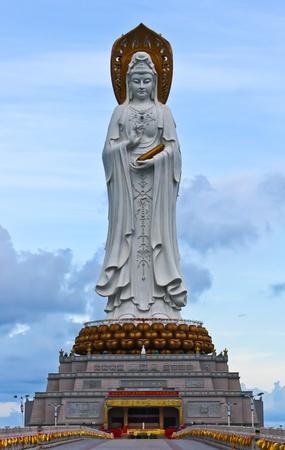 mercy: Guanyin statue (Goddess of mercy),Hainan province,China