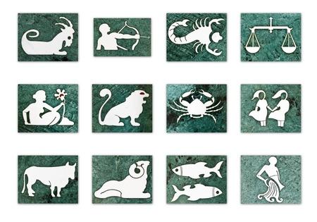 astrologie: 12 Sternzeichen Lizenzfreie Bilder