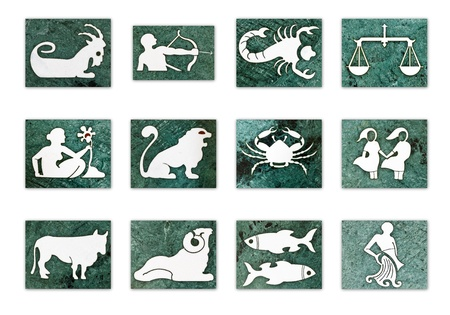 12 Zodiac signs photo