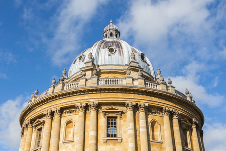 oxford: Bodleian library in Oxford UK
