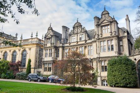 oxford: Trinity College Oxford UK