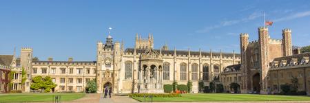 campus tour: College of Corpus Christi in Cambridge UK Editorial