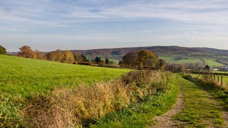Landscape southern Limburg region of the Netherlands