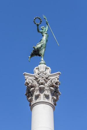 dewey: Victory Statue in Union Square, San Francisco, California Stock Photo