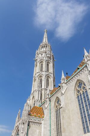 castle district: Castle district with Matthias church in Budapest the capital city of Hungary