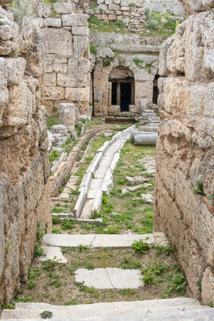 waterworks: First Roman waterworks system in Ancient Corinth, Greece