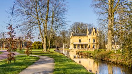 layman: Old mansion Nienoord and park in Leek Netherlands