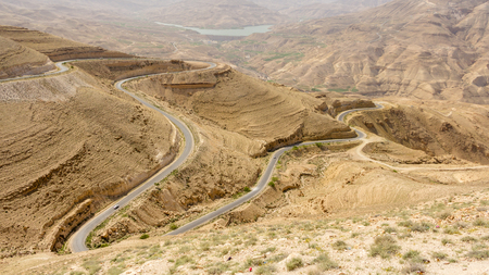 the holy land: View from Mount Nebo in Jordan where Moses viewed the Holy Land.