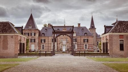 public domain: Estate and castle Twickel in Delden Holland Stock Photo