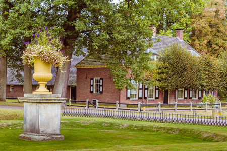 public domain: Famrhouse on estate Twickel in Delden Holland