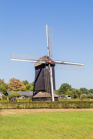 dutch typical: Typical Dutch Doesburger mill in Ede, Gelderland, Holland