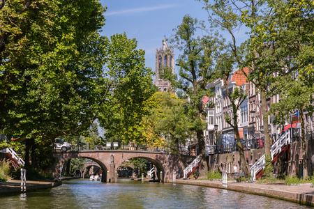 Center of Utrecht Holland