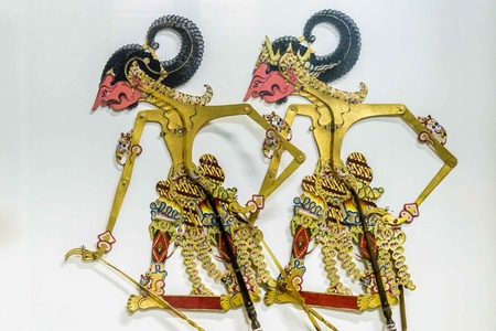 Wayang puppets of Indonesia