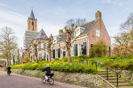 Cityscape of Amerongen a historic little town in the province of Utrecht in the Netherlands. Amerongen is  known from  his castle of Amerongen Reklamní fotografie