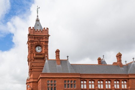 Historic building called the Peierheda in Cardiff bay. A unique visitor, events and conference venue for the people of Wales.
