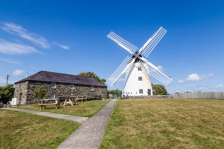 Moulin Melin Llynon, Llanddeusant Holyhead sur Anglesey, au nord du Pays de Galles uk Banque d'images