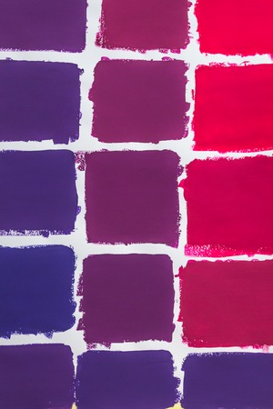 Red to blue color chart Stockfoto - 115482294