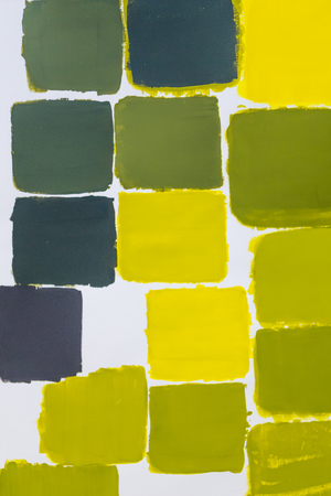 Yellow to green color chart