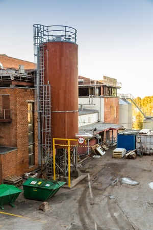 A. le Coq brewery in Tartu Estonia Redactioneel