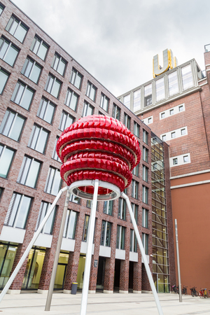 Dortmund, North Rhine Westphalia, Germany - October 18, 2018: Dortmunder U Tower Centre for Art and Creativiity Stockfoto - 111431628
