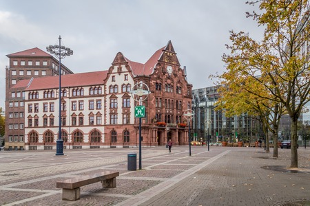 Dortmund, North Rhine Westphalia, Germany - October 18, 2018: Historic City hall in  Dortmund Germany Stockfoto - 111431633