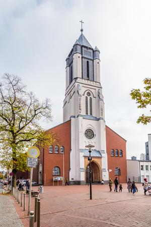 Dortmund, North Rhine Westphalia, Germany - October 19, 2018: St. Joseph church Innstadt-Nord in Dortmund Germany. Stockfoto - 111431800