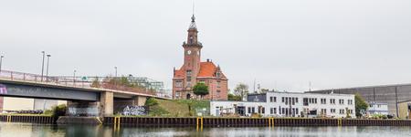 Dortmund, North Rhine Westphalia, Germany - October 19, 2018:  Old port authority (Altes Hafenamt) in Dortmund Germany. Stockfoto - 111431803