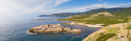 North West coastline near Bosa of  Sardinia island. Italy Stockfoto