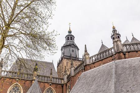 The Saint Walburgis or Walburg church in the center of Zutphen in Gelderland in the Netheralnds Stockfoto