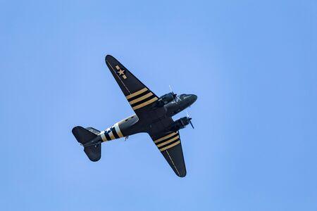 Ede, Netherlands, September 19, 2019: Dakota Drag em oot 75 years remembrance of Operation Market Garden WOII Arnhem in the Netherlands.
