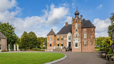 Medieval castle Cannenburch in Vaassen, Gelderland in the Netherlands Stockfoto