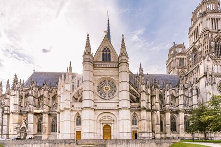 Royal cathedral of the Holy Cross in Orleans in France