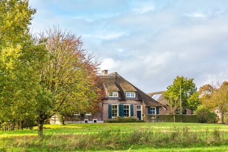 Little village Windeshiem near Zwolle, Overijssel in the Netherlands