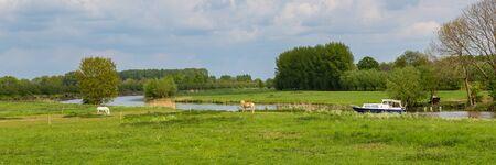 Family Estate Heerlijkheid Marienwaerdt along river De Lek in the Betuwe near Beesd, Gelderland The Netherlands