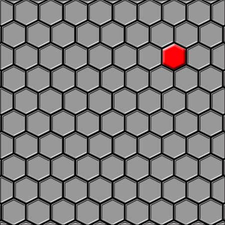 cel: L'ultima (prima) cel su uno sfondo nero. Esso � isolato, il lavoratore dei percorsi � presente.
