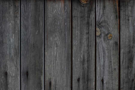 unpainted: Texture of the old wooden plank unpainted fence for a background