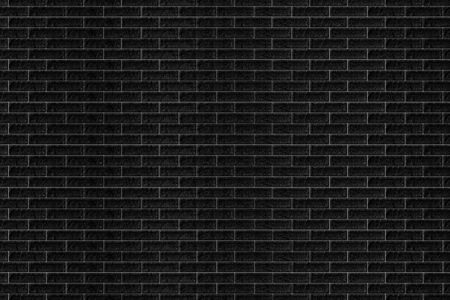 black stone: Texture of a brick wall from a black stone for a background. Stock Photo