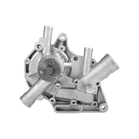 Car Parts - Automobile water pump classic on an white background. It is isolated, the worker of paths is present.
