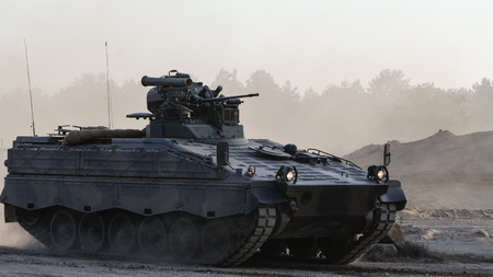 buckler: INFANTRY FIGHTING VEHICLE Stock Photo
