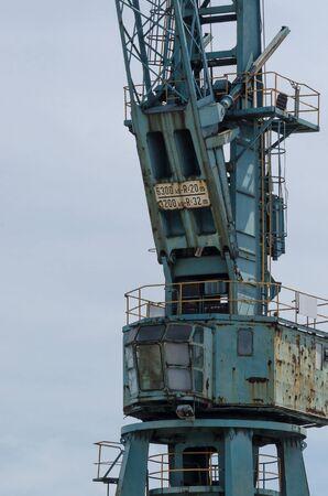 PORT CRANE - Transshipment facility at the port quay in Szczecin