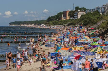 the furlough: USTRONES OF THE SEA, WEST POMERANIAN  POLAND: Holiday on the Baltic Sea beach