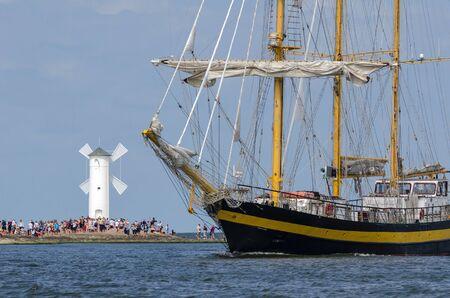 SAILING VESSEL - Bulgarian sailing ship Royal Helena Stock Photo