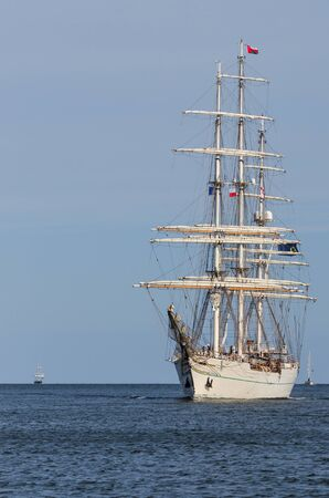 SAILING SHIP - Oman ship SHABAB OMAN at sea
