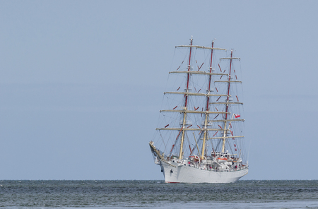 SAILING SHIP - Frigate Dar youth at sea