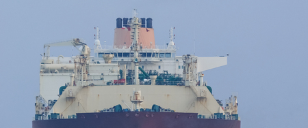 LNG TANKER Stock Photo - 90313791