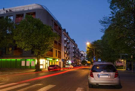 CITYSCAPE - A colorful evening in Kolobrzeg