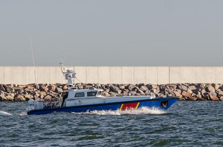 FAST MOTOR BOAT - Border Guard boat patrol