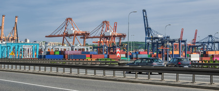 CONTAINER TERMINAL - A modern sea port in Gdynia