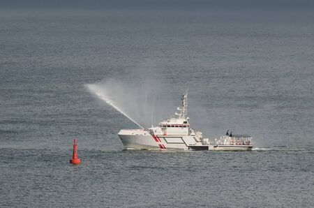 SAFETY AT SEA - Search And Rescue boat in action